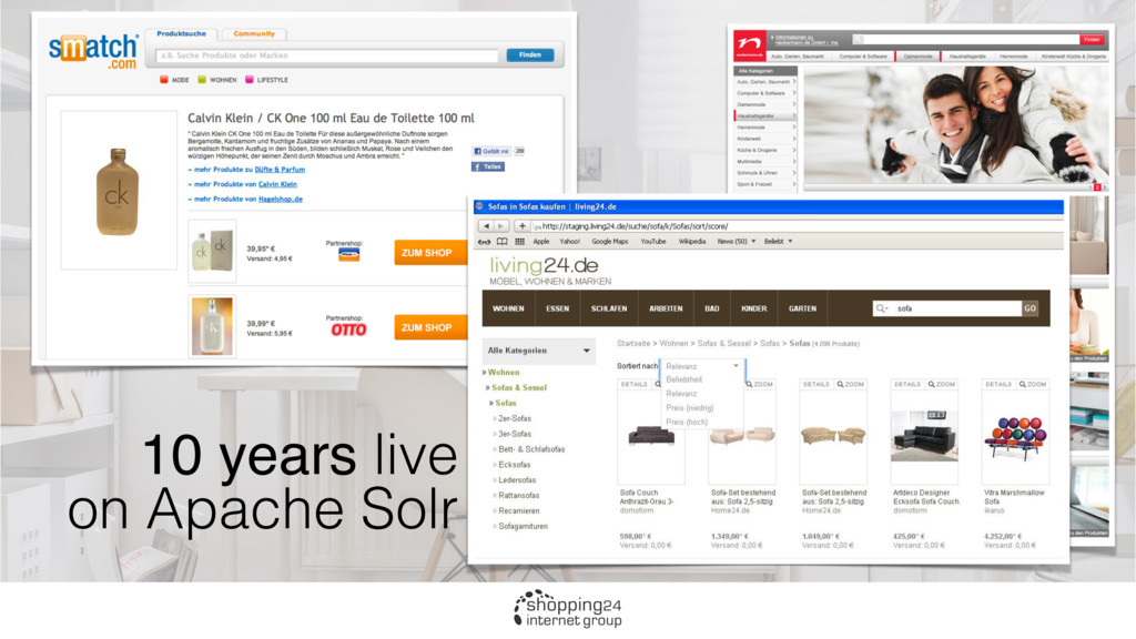 10 years live on Apache Solr