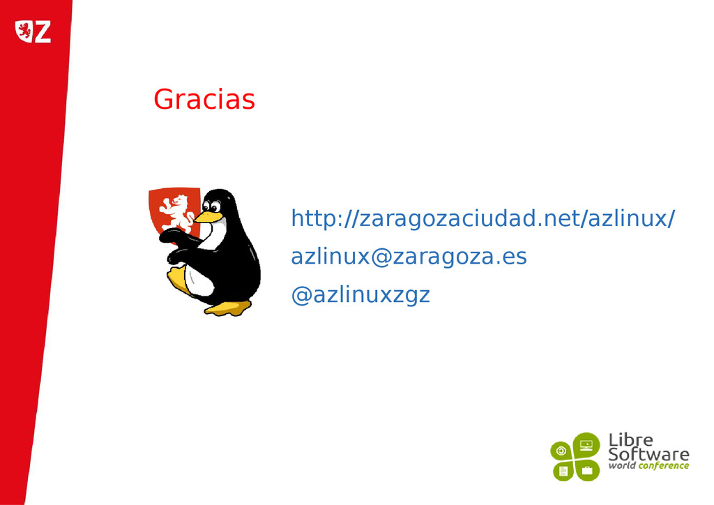 http://zaragozaciudad.net/azlinux/ azlinux@zara...