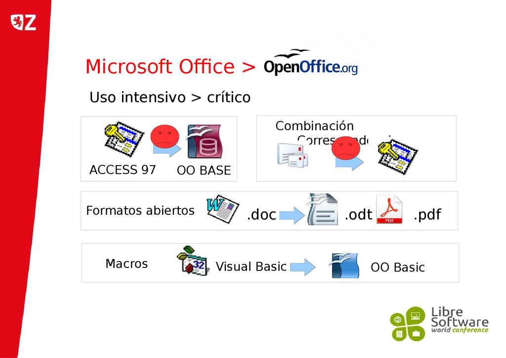 Microsoft Office > ACCESS 97 OO BASE Uso intens...