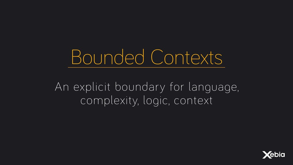 An explicit boundary for language, complexity, ...
