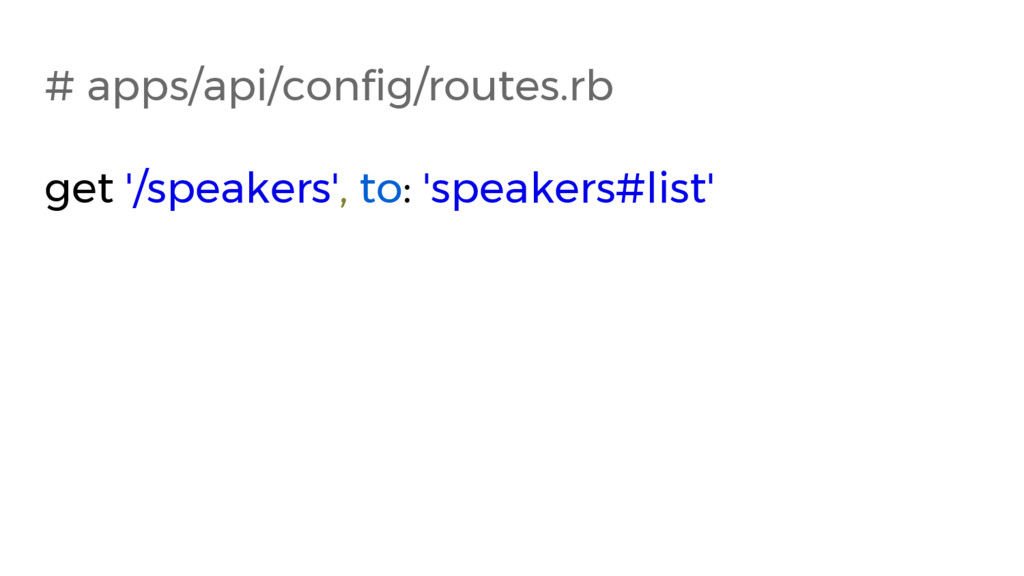 # apps/api/config/routes.rb get '/speakers', to...