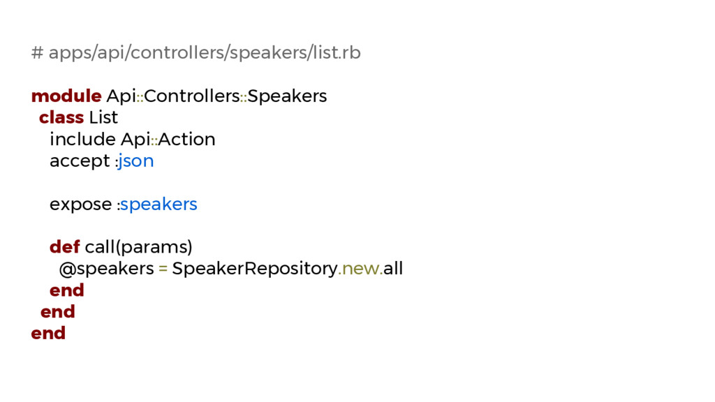 # apps/api/controllers/speakers/list.rb module ...
