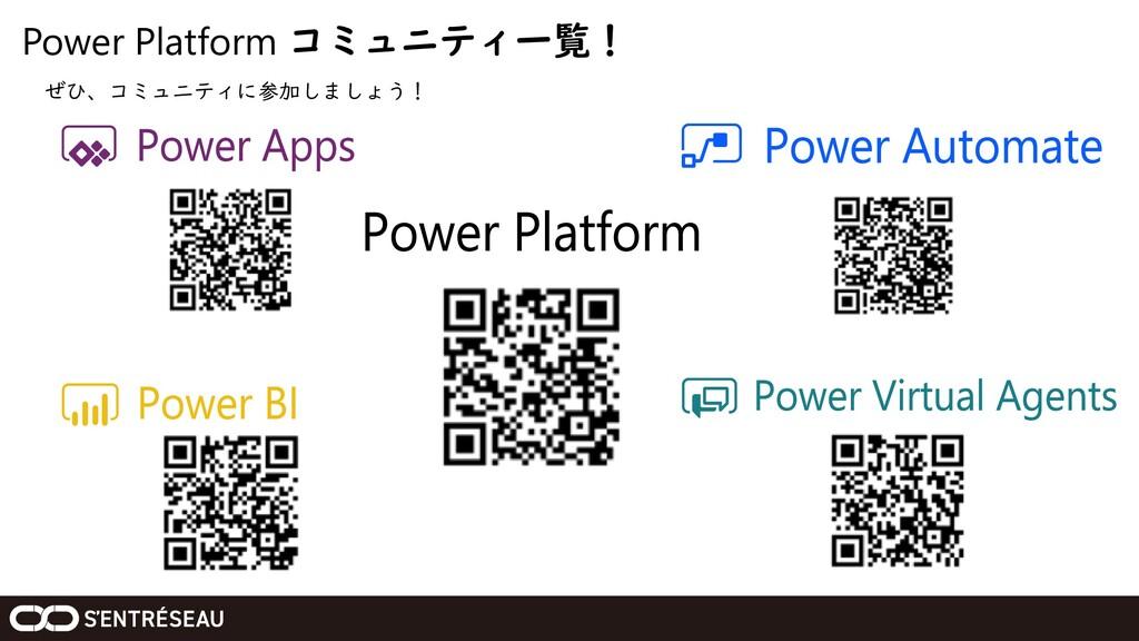 Power Platform コミュニティ一覧! ぜひ、コミュニティに参加しましょう!