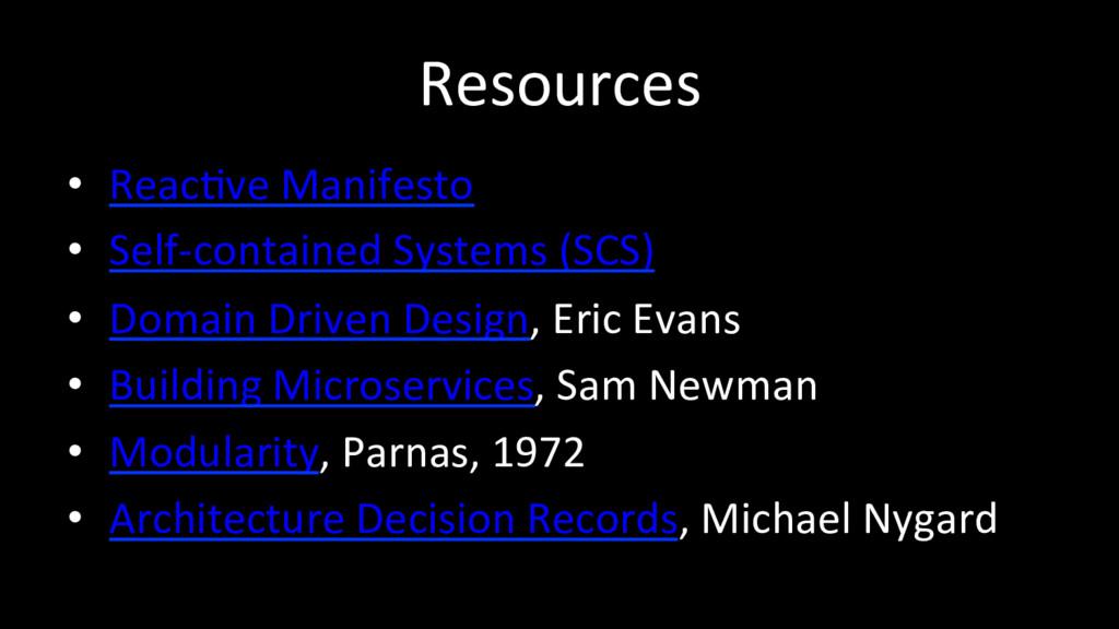 Resources • ReacOve Manifesto • Self-containe...
