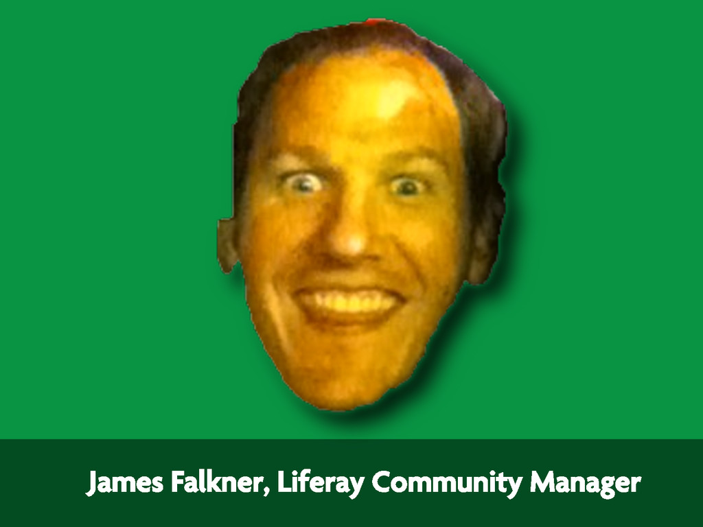 James Falkner, Liferay Community Manager