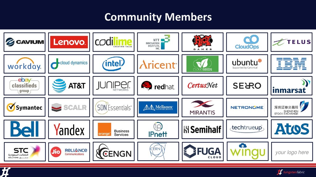 Community Members your logo here