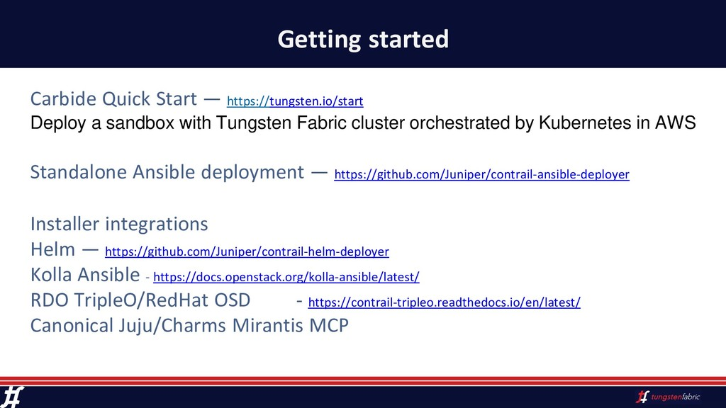 Getting started Carbide Quick Start — https://t...