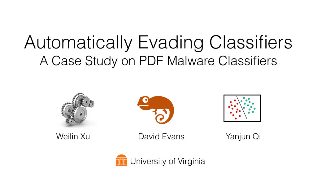 Automatically Evading Classifiers A Case Study o...