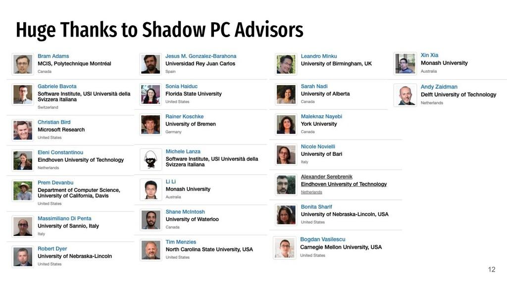 Huge Thanks to Shadow PC Advisors 12