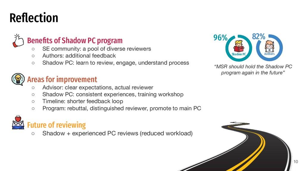 Reflection ● Benefits of Shadow PC program ○ SE c...