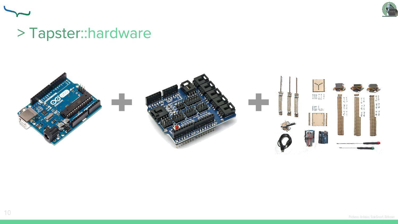 Pictures: Arduino, SainSmart, Bitbeam 10