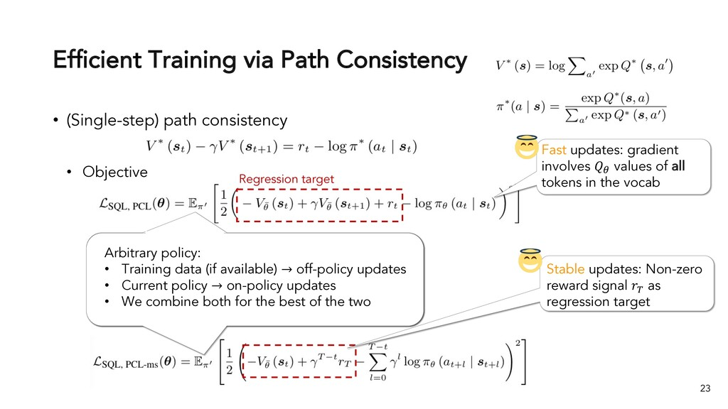 Efficient Training via Path Consistency • (Sing...