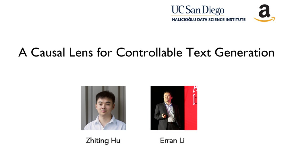 A Causal Lens for Controllable Text Generation ...