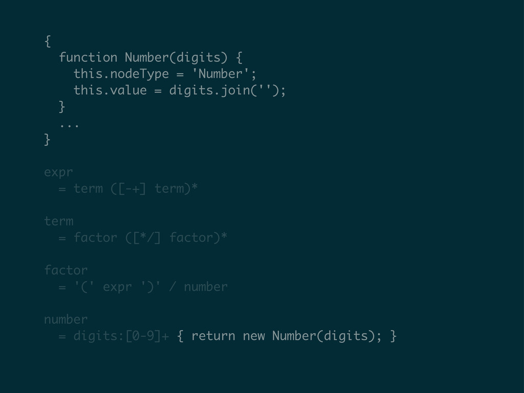{ function Number(digits) { this.nodeType = 'Nu...