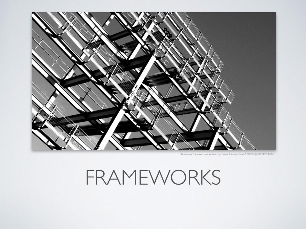 FRAMEWORKS Professional Framework, ronramstew, ...
