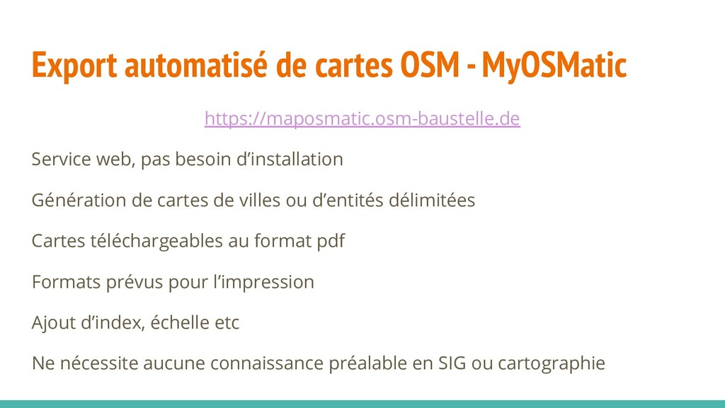 Export automatisé de cartes OSM - MyOSMatic htt...