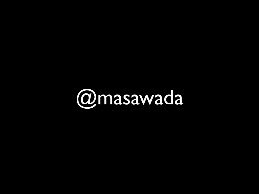 @masawada