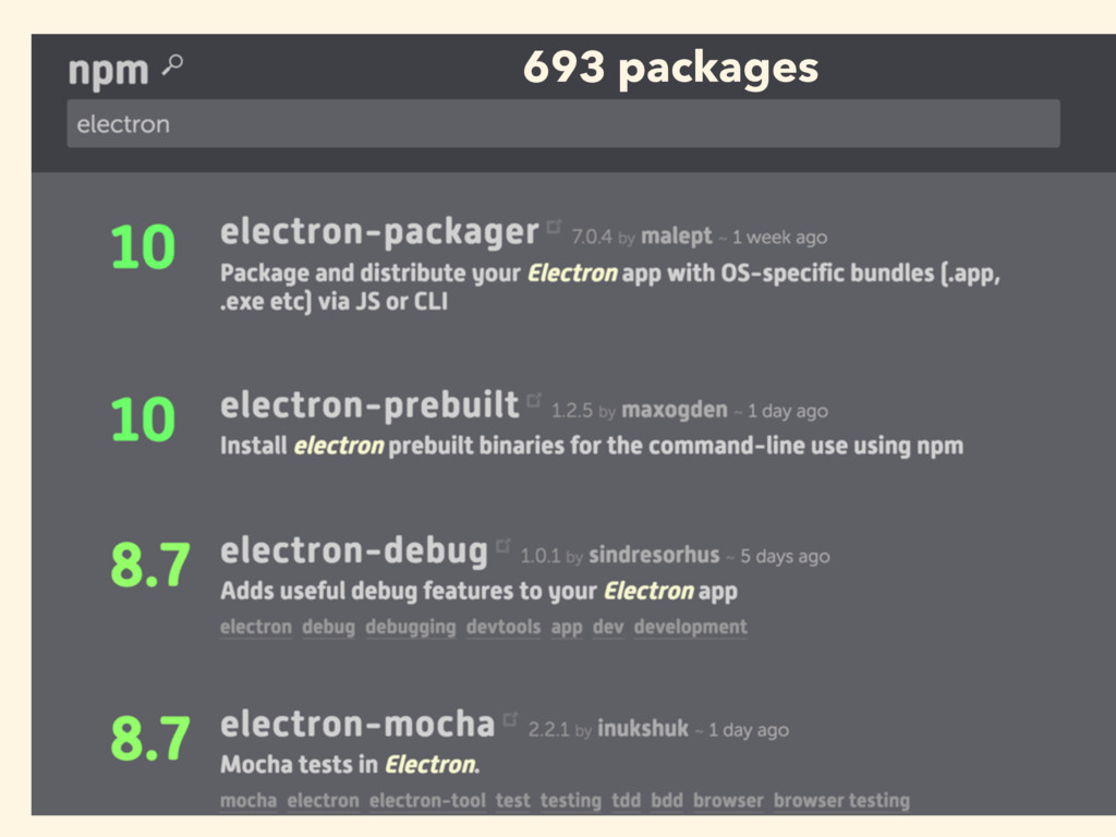 693 packages