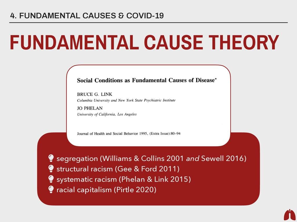 4. FUNDAMENTAL CAUSES & COVID-19 FUNDAMENTAL CA...