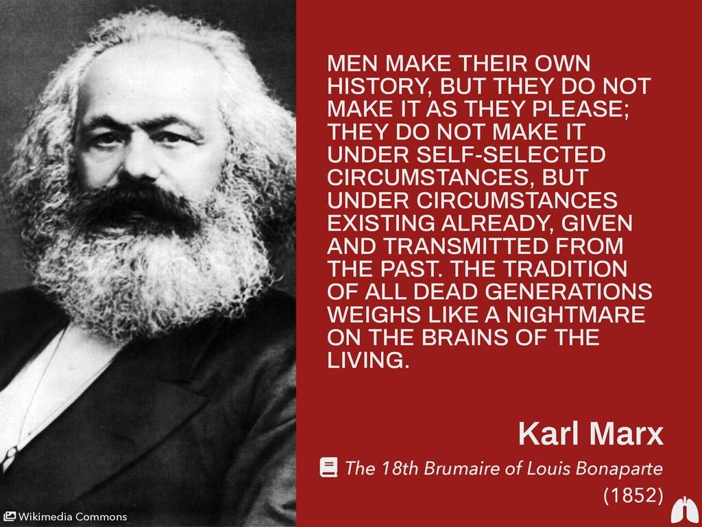 Karl Marx The 18th Brumaire of Louis Bonaparte ...
