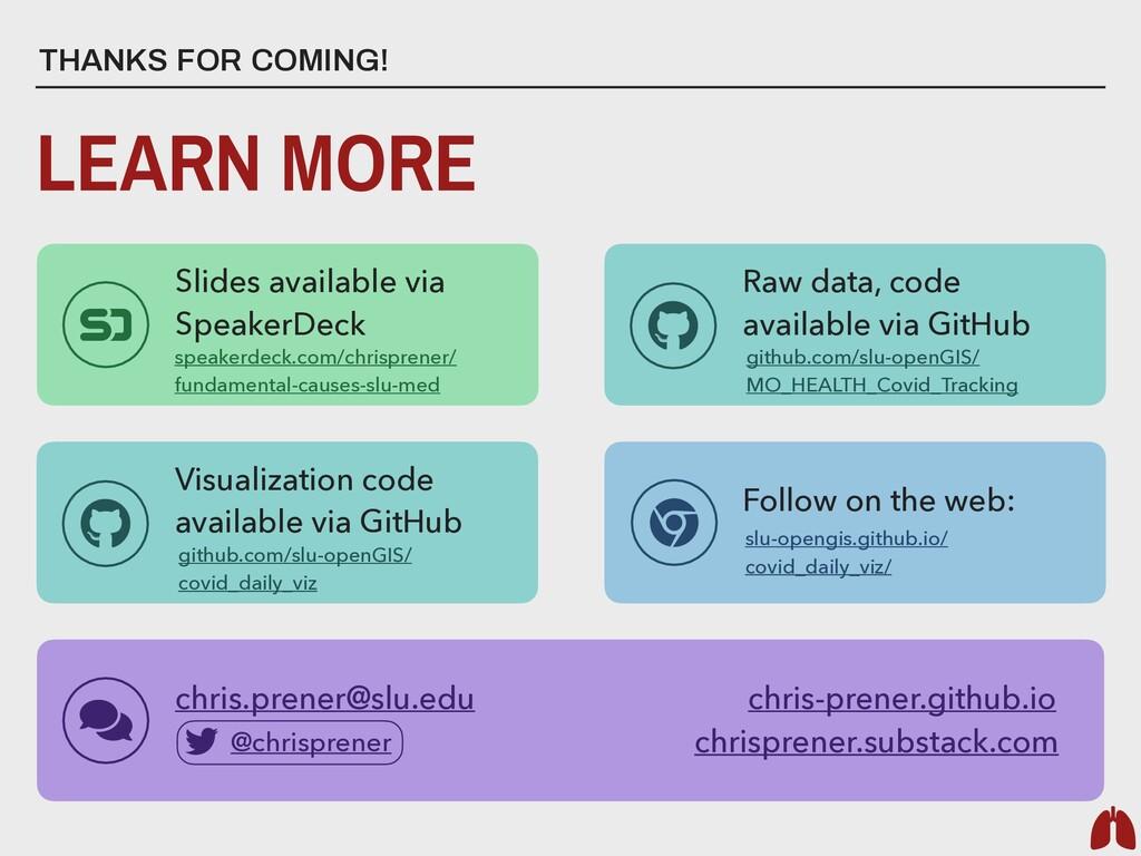Slides available via SpeakerDeck Follow on the ...