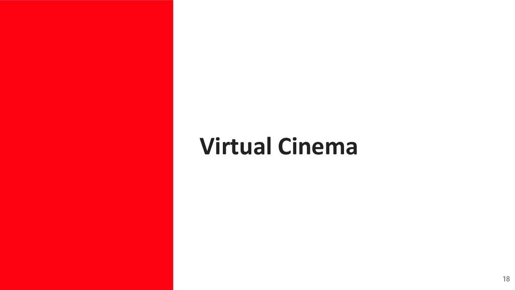 Virtual Cinema 18