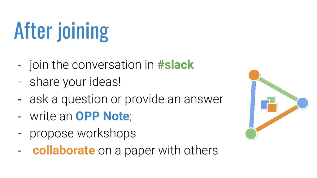 - join the conversation in #slack - share your ...
