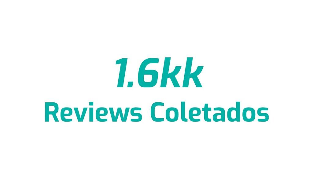 1.6kk Reviews Coletados