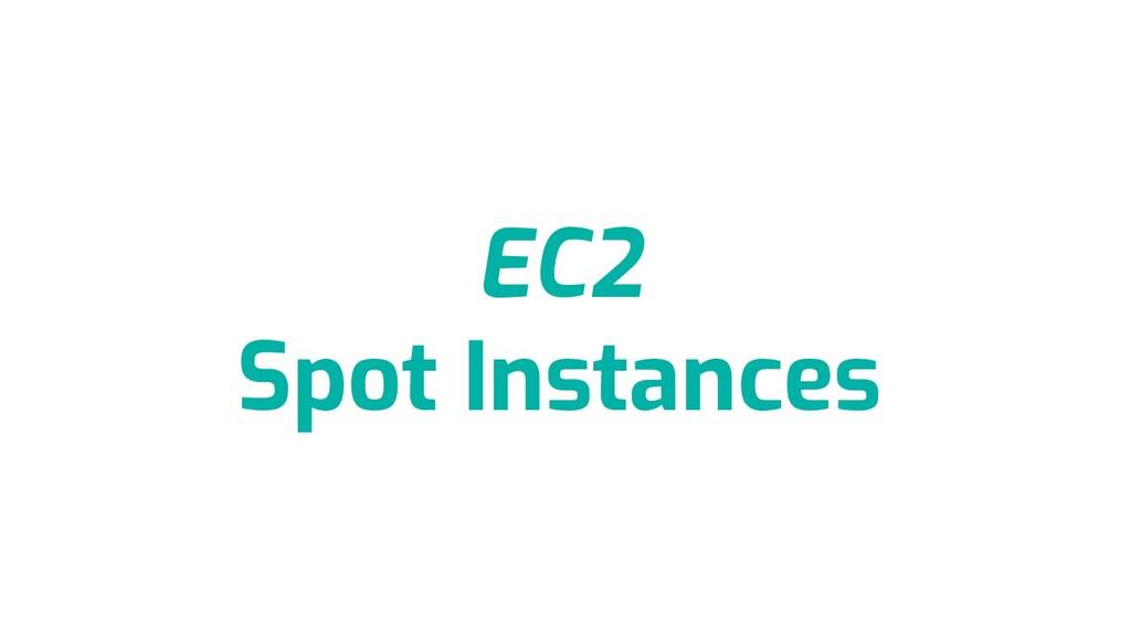 EC2 Spot Instances