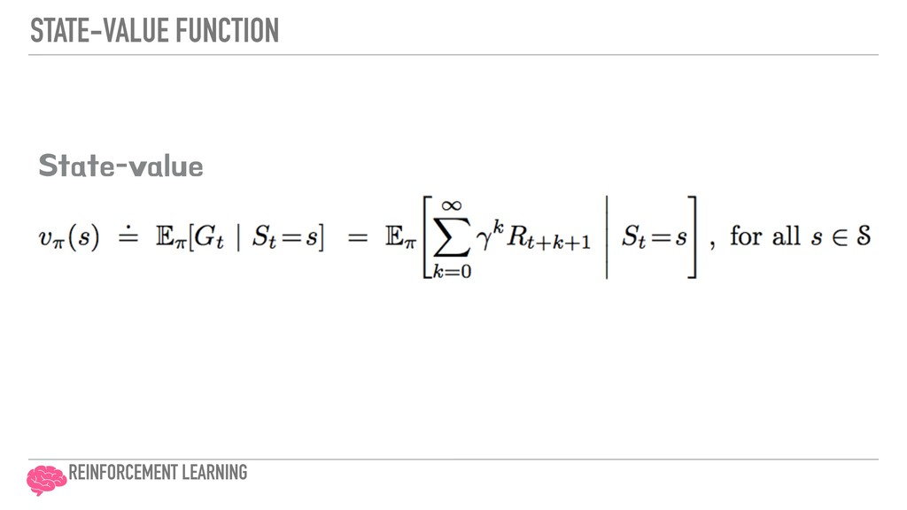 STATE-VALUE FUNCTION 4UBUFWBMVF REINFORCEMENT ...