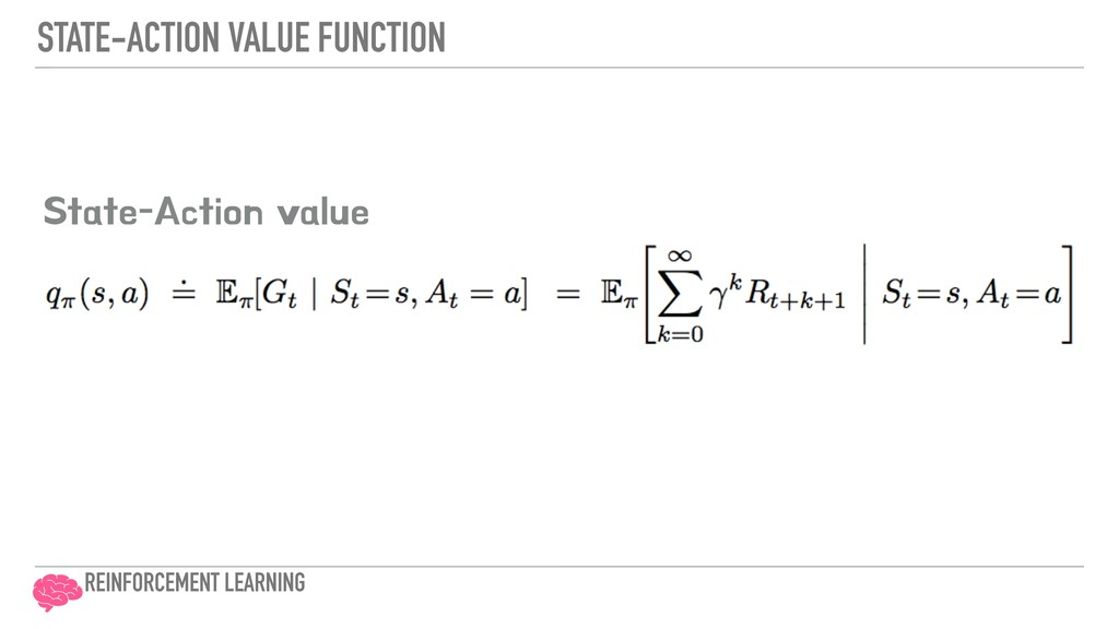 """STATE-ACTION VALUE FUNCTION 4UBUF""""DUJPOWBMVF ..."""