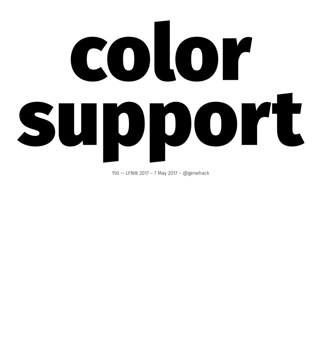color support 150 — LFNW 2017 – 7 May 2017 – @g...