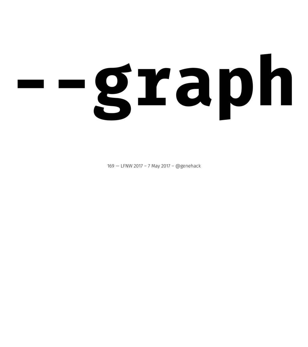 --graph 169 — LFNW 2017 – 7 May 2017 – @genehack