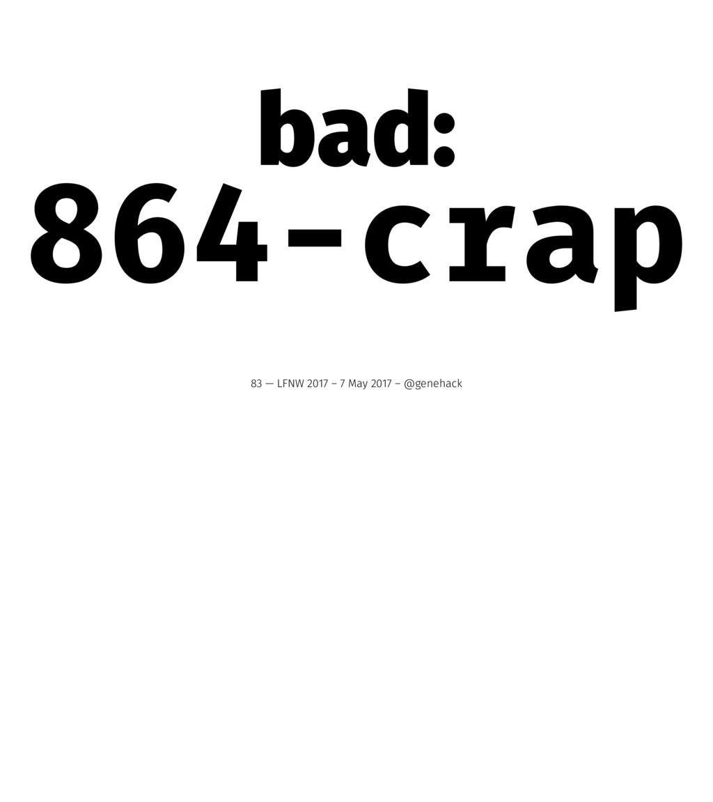 bad: 864-crap 83 — LFNW 2017 – 7 May 2017 – @ge...