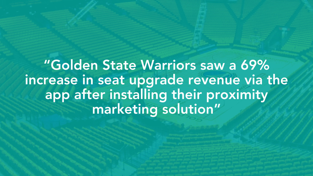 """Golden State Warriors saw a 69% increase in se..."