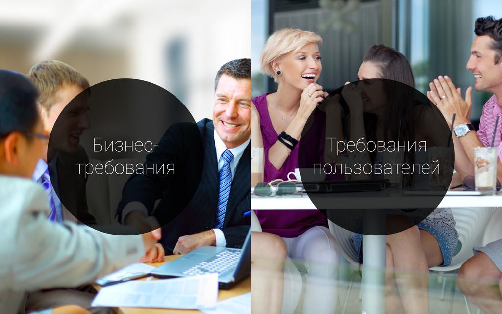 Бизнес- требования Требования пользователей