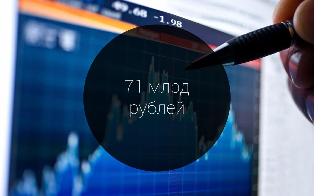 71 млрд рублей