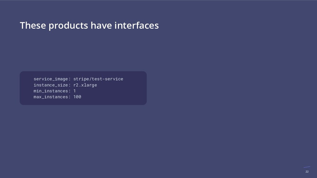 22 These products have interfaces service_image...
