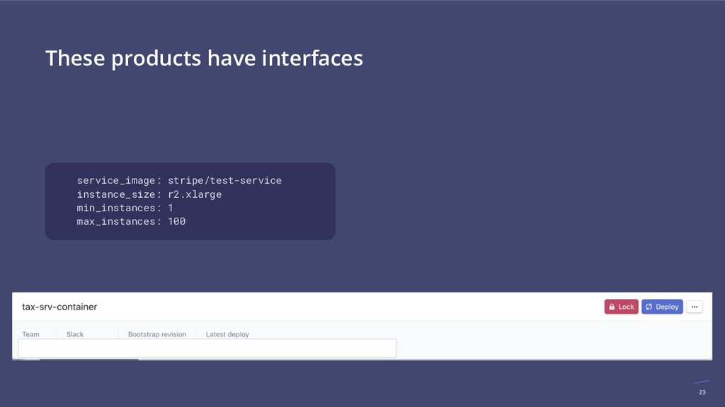 23 These products have interfaces service_image...