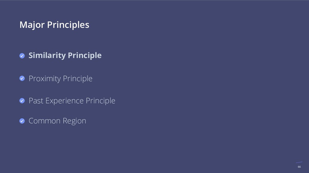 66 Major Principles Similarity Principle Proxim...