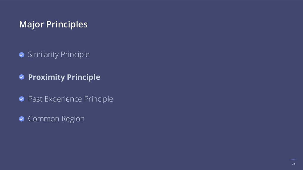 72 Major Principles Similarity Principle Proxim...