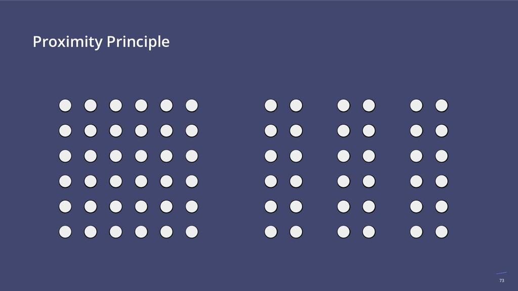 73 Proximity Principle