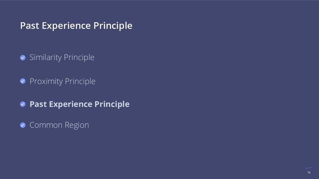 76 Past Experience Principle Similarity Princip...