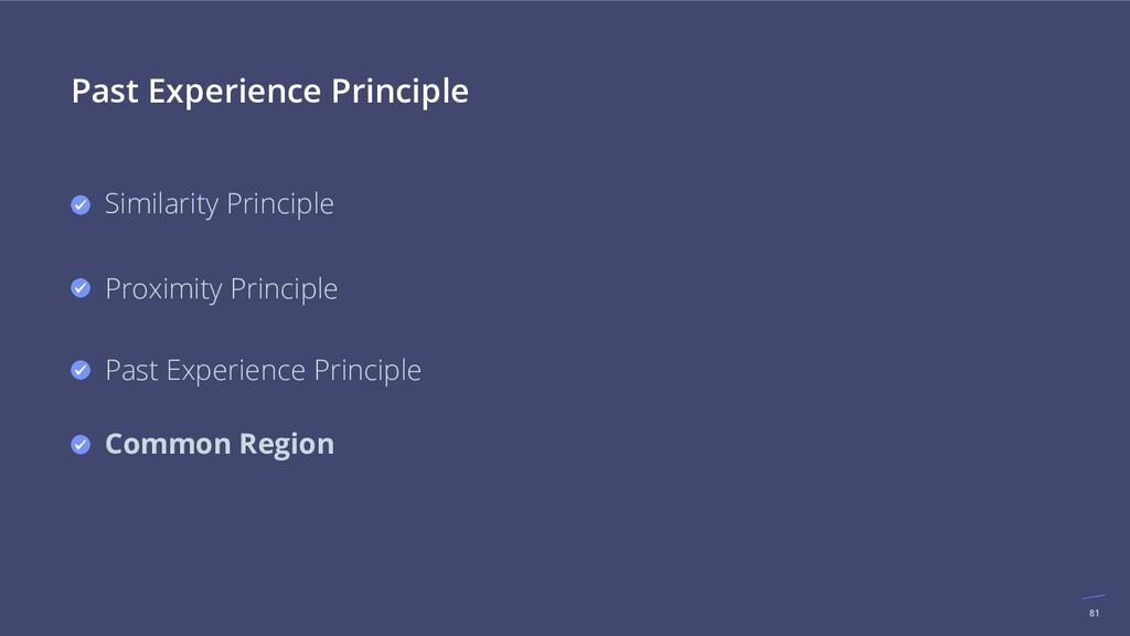 81 Past Experience Principle Similarity Princip...