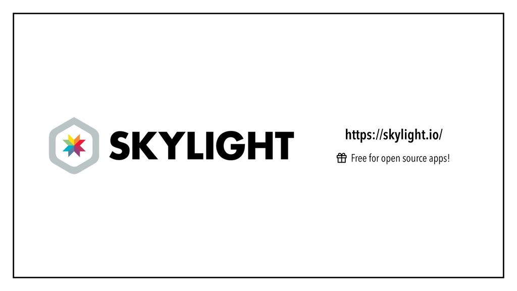 https://skylight.io/ Free for open source apps!