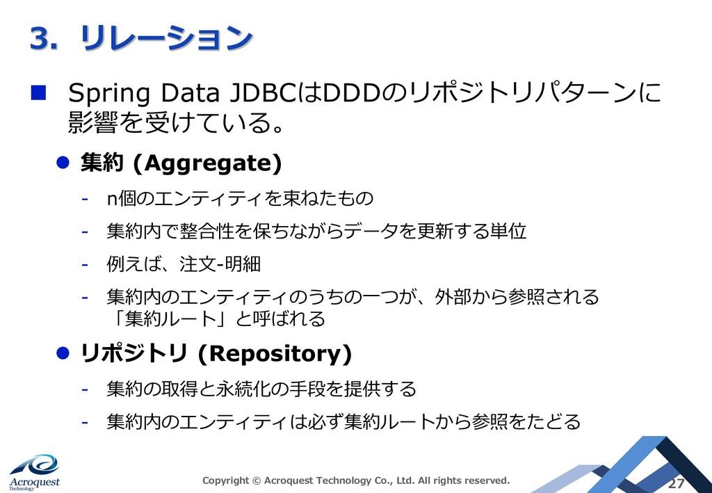A C n Spring Data JDBCDDD*)#'*($, FI ;...