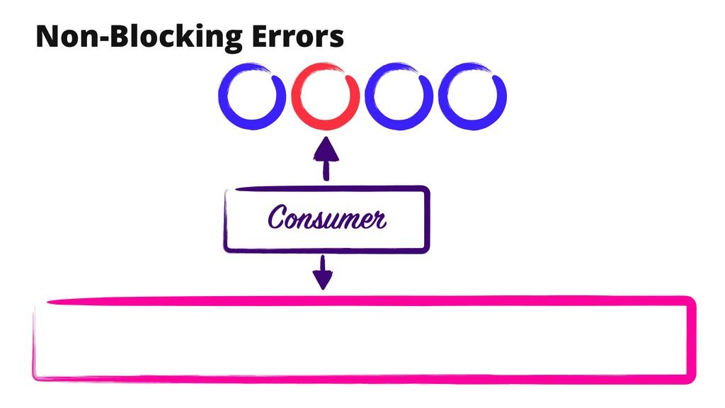 Non-Blocking Errors Consumer