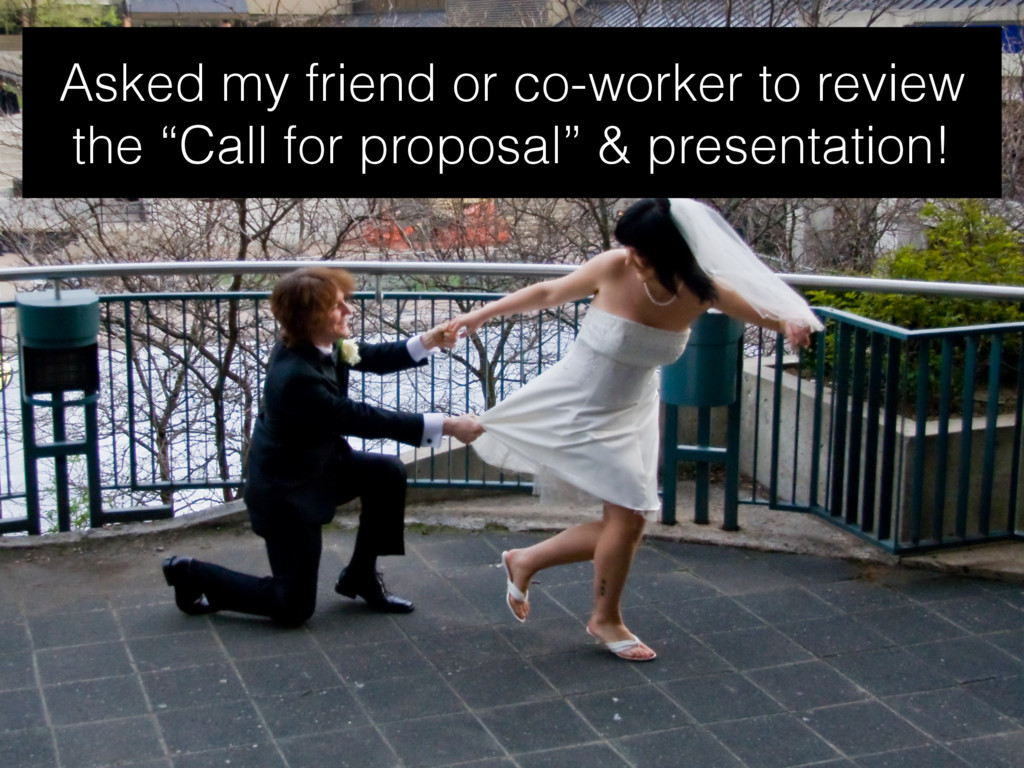 """Asked my friend or co-worker to review the """"Cal..."""