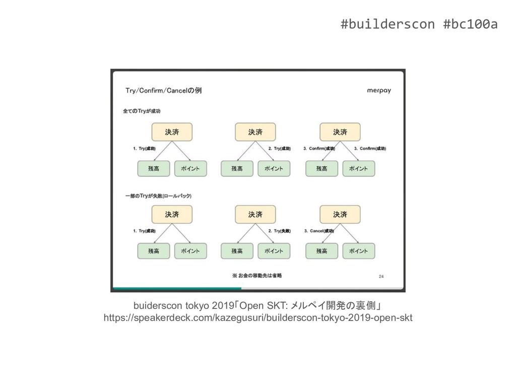 #builderscon #bc100a buiderscon tokyo 2019「Open...