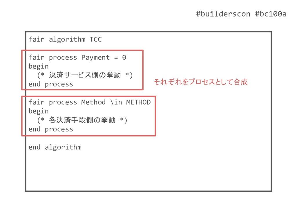 #builderscon #bc100a fair algorithm TCC fair pr...